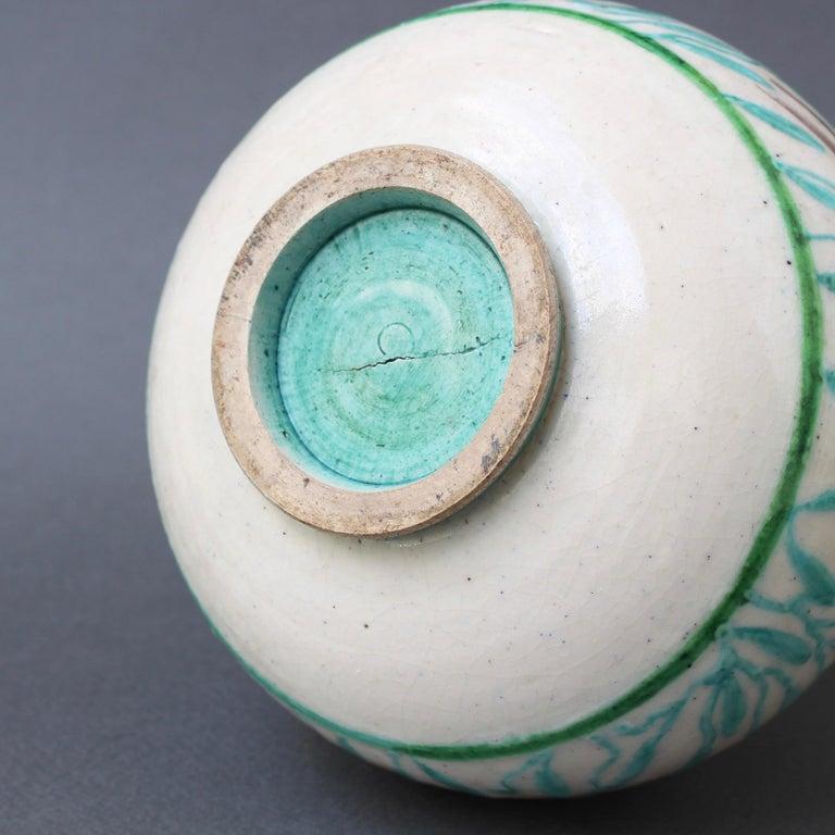 Vintage Ceramic Flower Vase by Jean Mayodon, circa 1960s For Sale 10