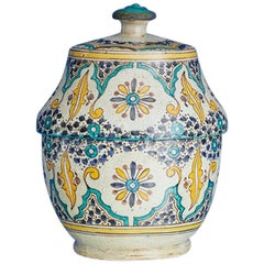 Vintage Ceramic Lidded Jar