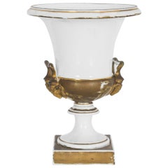 Vintage Ceramic Trophy on Stand