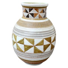 Vintage Ceramic Vase by Dominique Guillot, circa 1960s