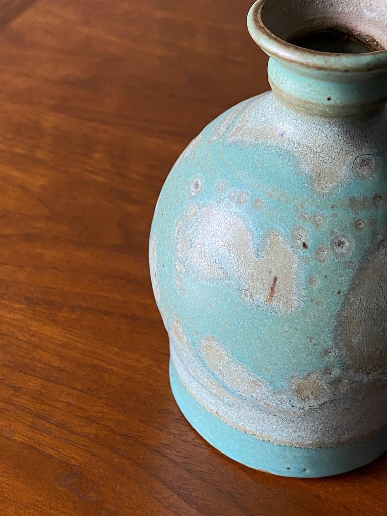 Vintage ceramic vase, Circa 1960s.