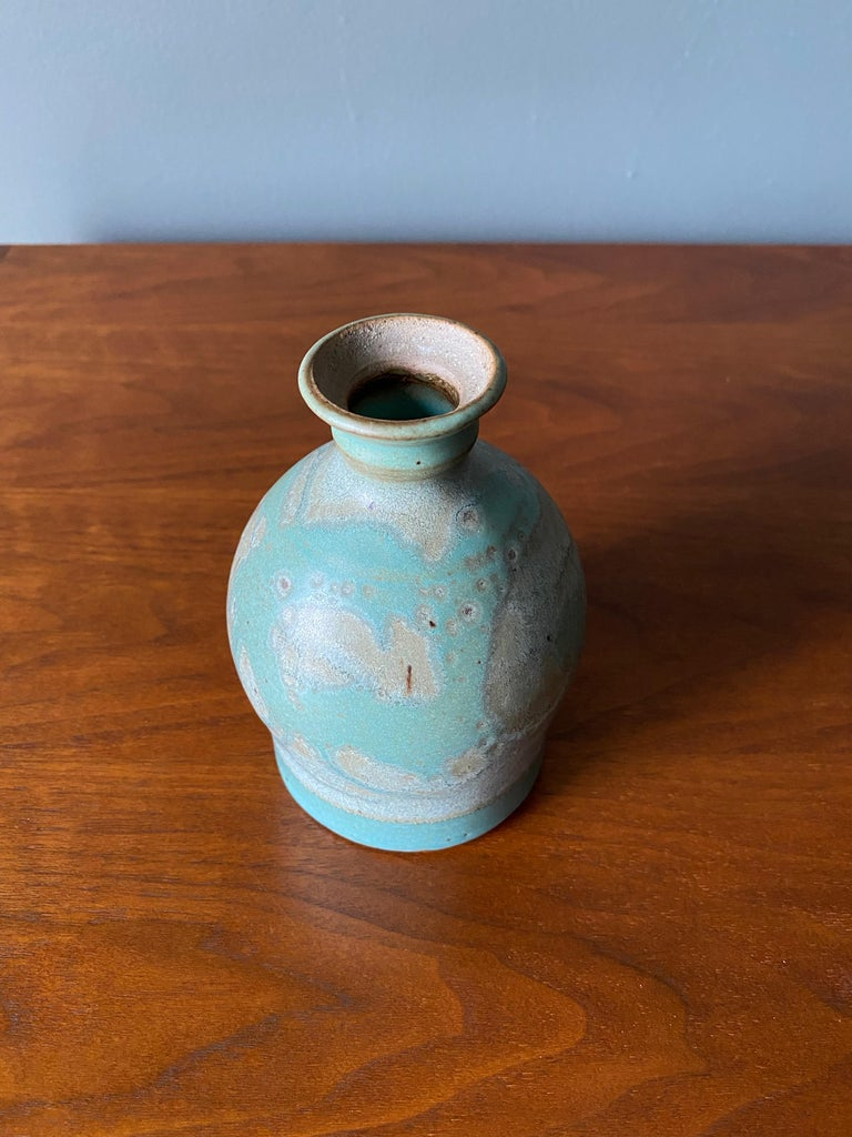 Mid-Century Modern Vintage Ceramic Vase, Circa 1960s For Sale