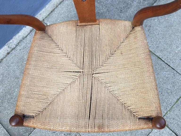 Vintage CH24 Oak Side Chair by Hans J. Wegner for Carl Hansen & Søn, 1960s 5