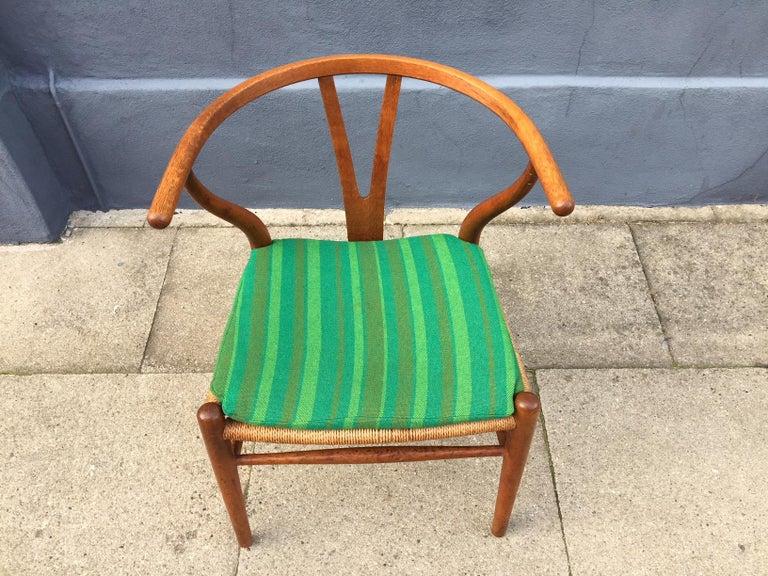 Danish Vintage CH24 Oak Side Chair by Hans J. Wegner for Carl Hansen & Søn, 1960s