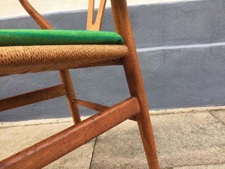 Mid-20th Century Vintage CH24 Oak Side Chair by Hans J. Wegner for Carl Hansen & Søn, 1960s