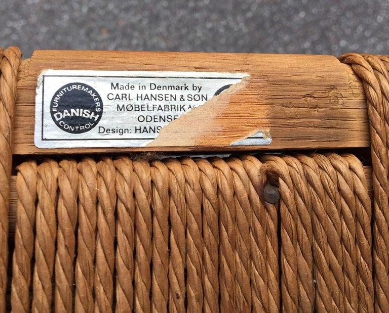 Vintage CH24 Oak Side Chair by Hans J. Wegner for Carl Hansen & Søn, 1960s 1