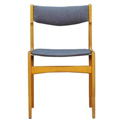 Vintage Chair Midcentury Teak Retro 1970s Gray Ash
