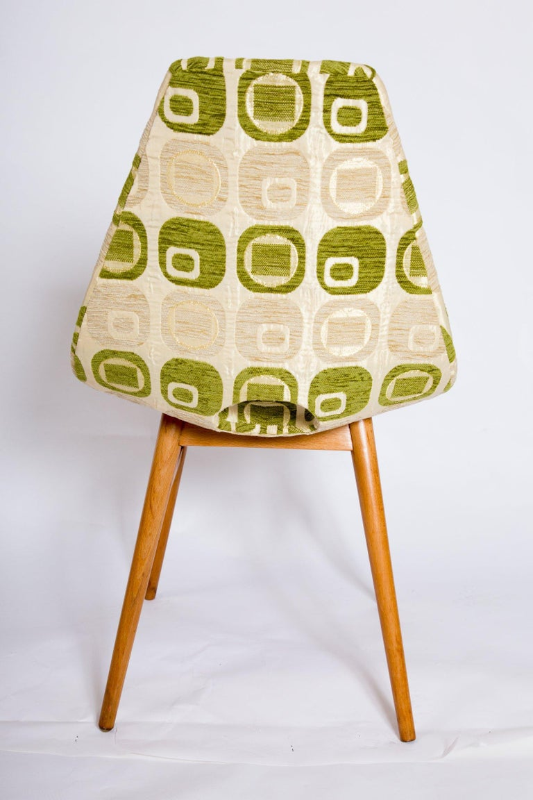 Mid-Century Modern Vintage Chairs, 1960s, Set of 4 For Sale