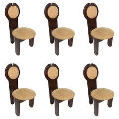 Vintage Chairs by Rudolf Szedleczky, Set of 6
