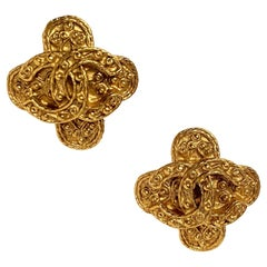 Vintage CHANEL 1994 Byzantine Earrings