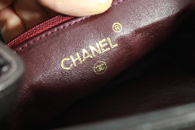 96a092a18062 Women's or Men's Vintage Chanel Brown Backpack with Golden Hardware For Sale