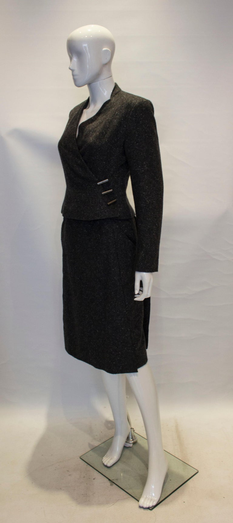 Vintage Chanel Cashmere Suit In Good Condition In London, GB