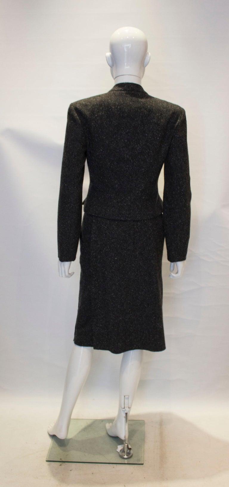 Vintage Chanel Cashmere Suit 3