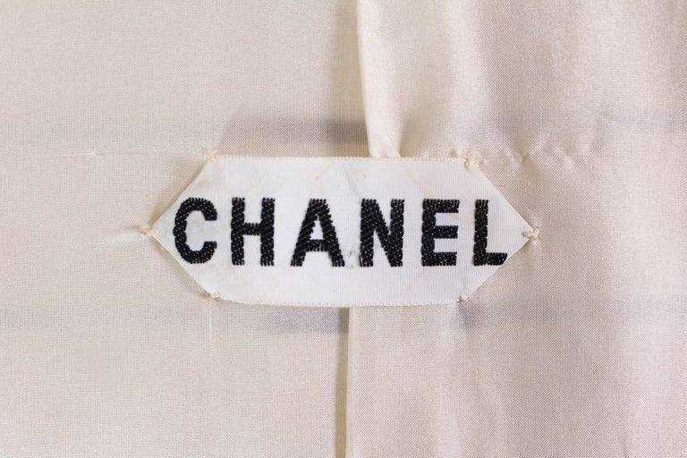 Vintage Chanel Haut Couture Skirt Suit 1974 For Sale 5