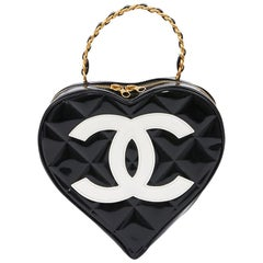 Vintage CHANEL Heart Bag
