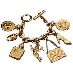 Vintage CHANEL Iconic Charms Bracelet