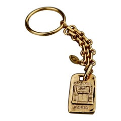 Vintage CHANEL Iconic Door Keychain