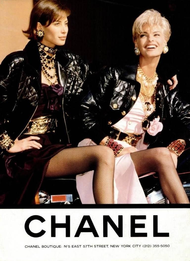 Women's Vintage Chanel Important Massive Rhinestone Bangle For Sale