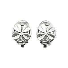 Vintage Chanel Lucky Shamrock Earrings 1996
