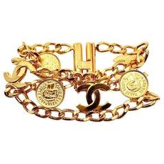 Vintage Chanel Medals Bracelet