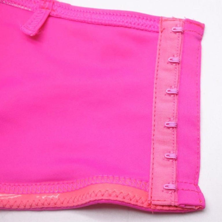 Vintage Chanel pink swimsuit size 40 For Sale 2