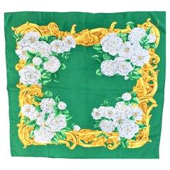 Vintage CHANEL Scarf 100 % Silk 90cm x 90 cm