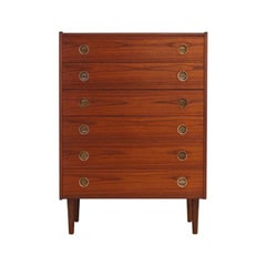 Vintage Chest Of Drawers, 1960-1970 Rosewood Retro