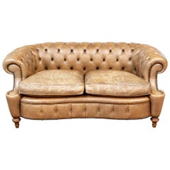 Vintage Chesterfield Leather Sofa from Smith & Watson
