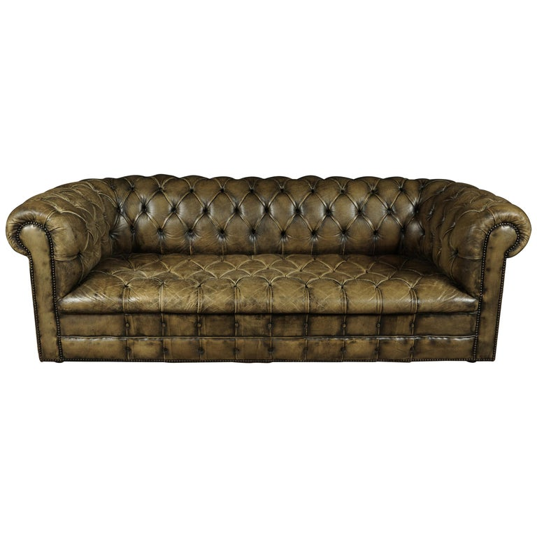 Vintage Chesterfield Sofa from England, circa 1950