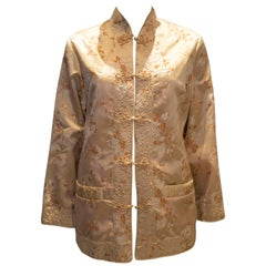 Vintage Chinease Jacket with Fur Lining