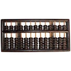 Vintage Chinese Abacus, Authentic Original, Extra Large