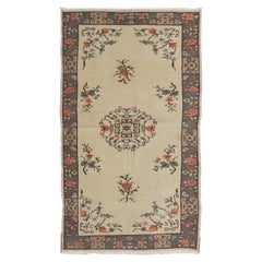 Art Deco Chinese Rug in Rustic Colors