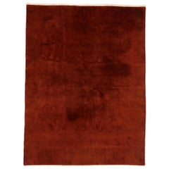 Vintage Chinese Art Deco Rug with Modern Spanish Colonial Style