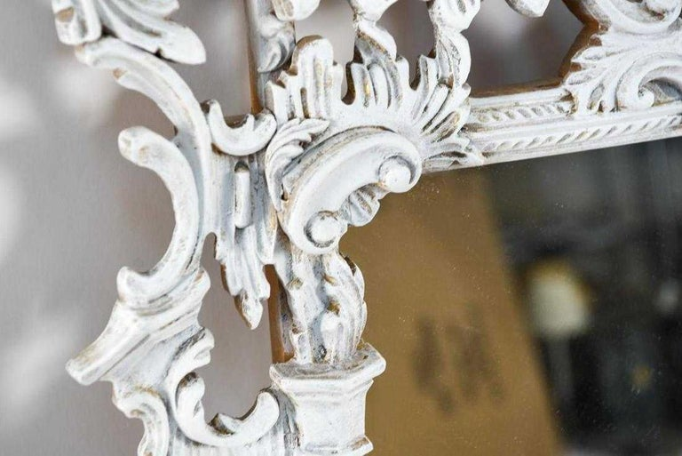 Carved Vintage Chinese Chippendale Style Mirrors, Sold Singly For Sale