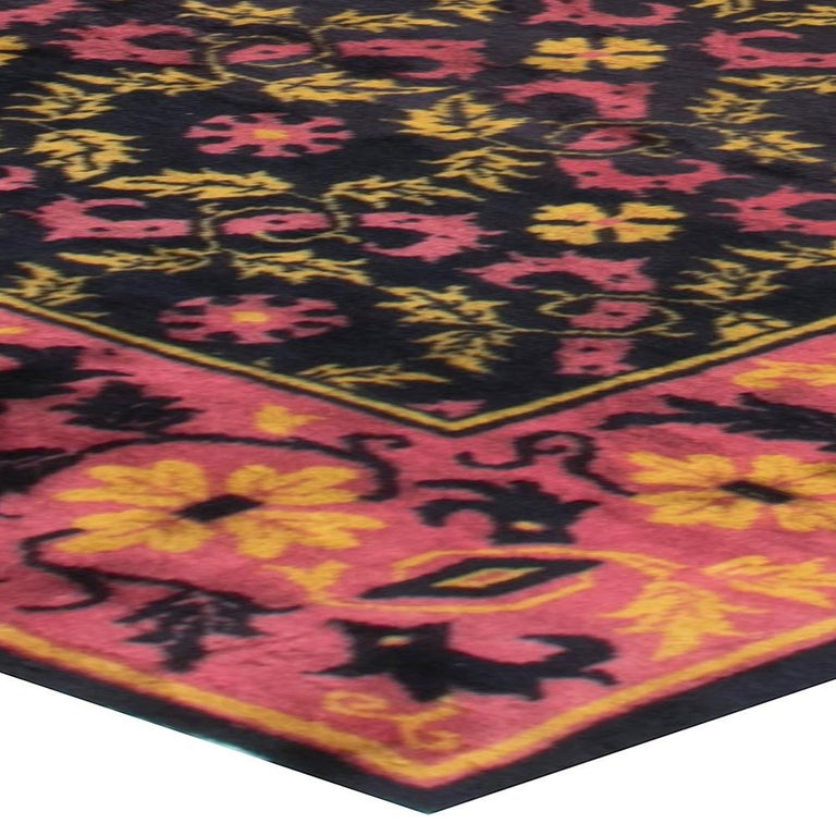 Vintage Chinese Deco Rug For Sale 1