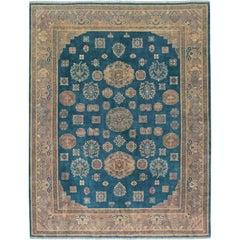 Vintage Chinese Khotan Style Rug