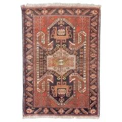 Vintage Chirwan Azerbaijan Rug