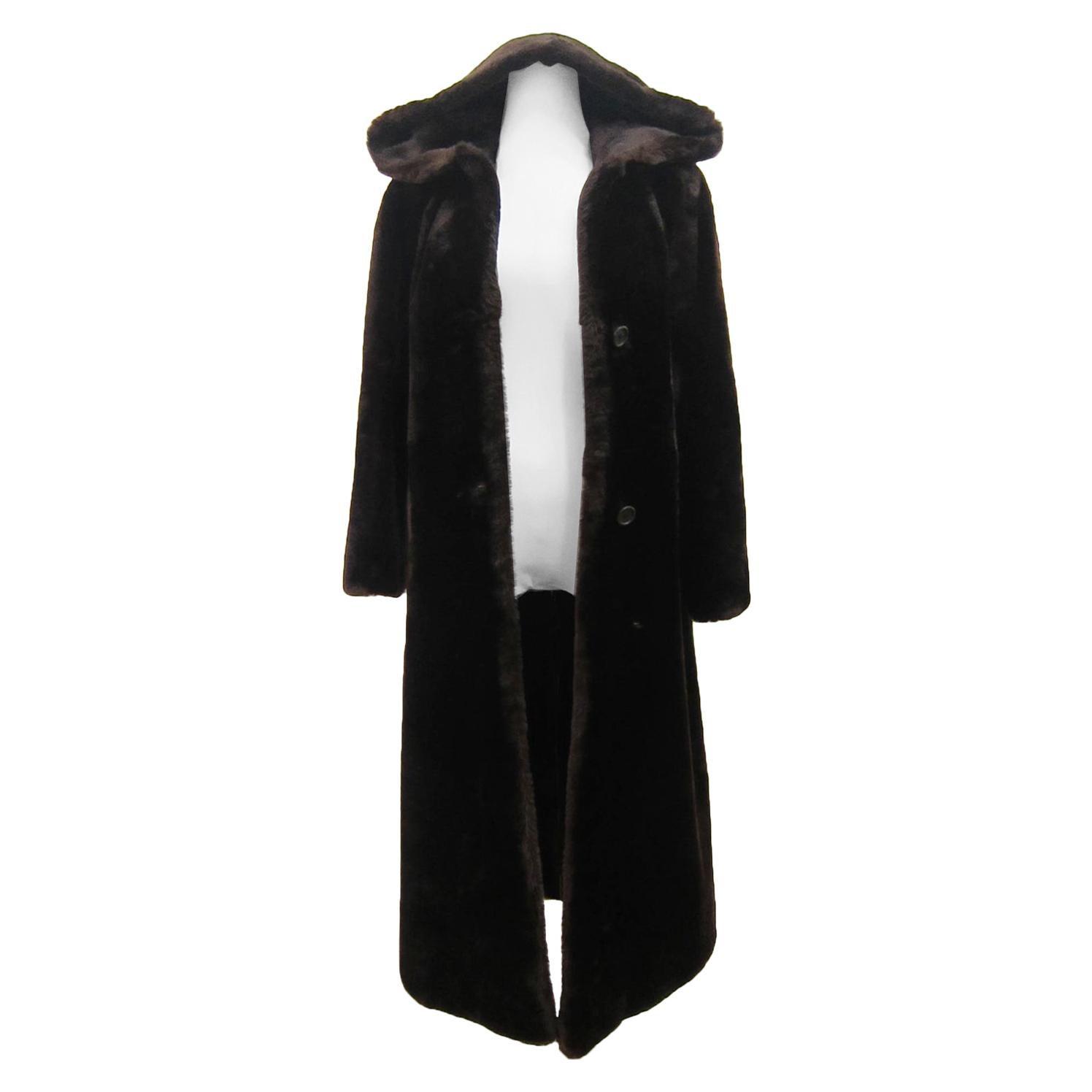 Vintage Chloe Fur Coat Circa 70s Karl Lagerfeld