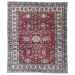 Vintage Chobi Afghan Rug