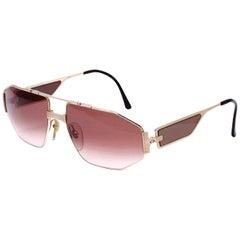 Vintage Christian Dior Aviator Sunglasses
