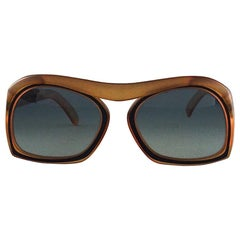 Vintage CHRISTIAN DIOR Bridgeless Space Age Sunglasses