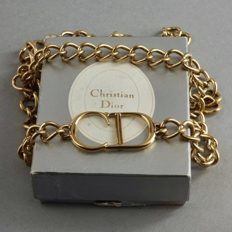 Vintage Christian Dior By John Galliano Logo Monogram