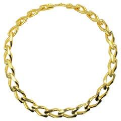Vintage Christian Dior Chunky Link Chain 1980s