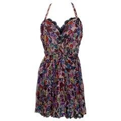 Vintage Christian Dior Silk Dress