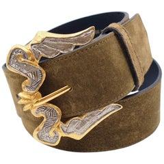 Vintage Christian Lacroix Belt Buckle 1990s