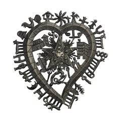 Vintage CHRISTIAN LACROIX Figural Symbolic Pendant Brooch