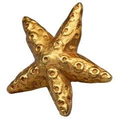 Vintage CHRISTIAN LACROIX Starfish Brooch
