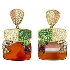 Vintage Christian Lacroix Statement Earrings 1990s