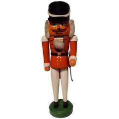 Vintage Christmas Nutcracker Wood Erzgebirge, Germany