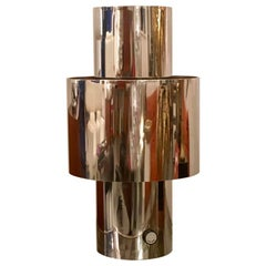 Vintage Chrome Willy Rizzo Love Lamp, 1969